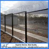 ワイヤー壁は溶接された防御フェンスのパネルに反上ったり、反切った