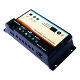 Double contrôleur de charge de la batterie solaire avec compteur à distance (10A, 20A, 12/24V AUTO) (EPIP20-DB)
