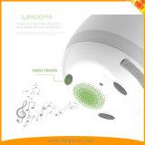 Noten-Pflanzenklavier-Musik, die intelligenten Mehrfarben-LED hellen runden intelligenten Bluetooth Lautsprecher des Flowerpot-spielt