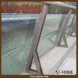 Pêche à la traîne en verre d'acier inoxydable de balcon marin normal australien de pente
