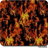 Tsautop 1m Width Skull Flame Hydrographic Water Transfer Printing Film