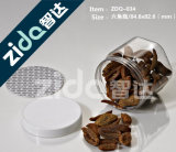 Подгонянная пластмасса упаковки еды может/пластмасса может для пакета еды