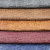 ハンドバッグ、袋、靴のためのワニの木目塗りPVCレザーの工場
