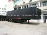 Antienvejecimiento Panel Sandwich Plywood FRP para Body Stage Show Truck