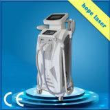 O IPL vertical Shr Opt máquina da beleza para a remoção do cabelo, a remoção da veia da aranha e o enrugamento