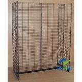 Fußboden-stehende Stahlrasterfeld-Wand-Speicher-Bildschirmanzeige-Zahnstange (PHY310)