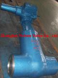 Tipo valvola dell'acciaio inossidabile Y del dispositivo di tenuta a pressione di globo
