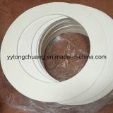 Aislamiento térmico de papel de fibra cerámica como revestimiento del separador del sello de junta