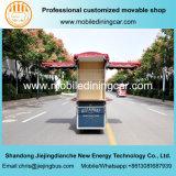 Remorque mobile populaire de nourriture de chariot de nourriture dans le mail et marchés avec du ce