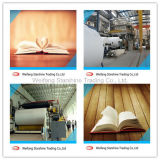 Papel compensado blanco superior de Woodfree para el libro de la impresión