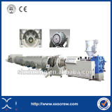 Machine en plastique d'extrusion de pipe de PVC de vis jumelle conique