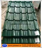 Azulejo de material para techos de acero esmaltado prepintado