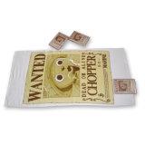 ロゴの印刷(YT-657)を用いる100%年の綿の物質的な圧縮された浴室タオル