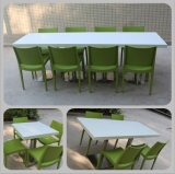 Kkr Popular Restaurant Furniture Food Court Conjunto de mesa de jantar