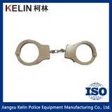 Polizia Equipment Handcuff (Hc-09W) con Double System