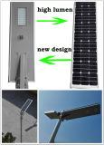 Nuevo producto 6W a 80W todo en una luz de calle solar