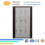 24 أبواب خزانة ثوب معدنة خزانة لأنّ تخزين إستعمال