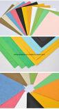 Placa Embossed Color Bristol, Carteira de couro da capa de encadernação