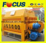 Смеситель твиновского вала Js3000 конкретный для конкретного дозируя завода 180m3/H