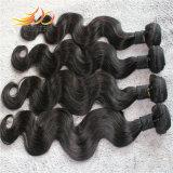 Colore naturale del Virgin 8A dell'onda del corpo del tessuto mongolo non trattato dei capelli