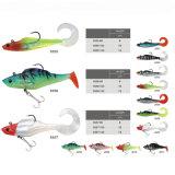 Custom Made Cheap Mustad Hook Soft Fishing Lure