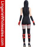 Costume Ninja причудливый Cosplay партии Halloween женщин свирепый красный