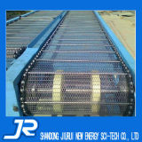Tipo Chain transporte de correia do engranzamento do aço inoxidável