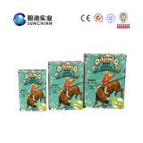 Het aangepaste Boek Gevormde Afgedrukte Verpakkende Vakje van het Karton (SCBB00033)