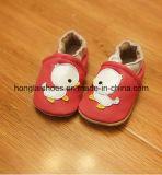 赤ん坊の革柔らかい底靴02