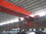Grúa de puente doble ampliamente utilizada de la percha de la viga del Qd 160/50ton