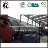 Betätigte Holzkohle-Maschinerie für olivgrünes Kern-Shell