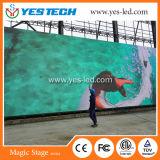 에너지 절약 P4.8mm 옥외 실내 풀 컬러 LED 영상 벽