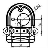De Camera van de veiligheid voor voor de Kar van de Korrel van Toyota Prado, de Aanhangwagen van het Paard, Vee, Tractor, combineert, rv - Universele, Weerbestendige Camera's voor John Deere