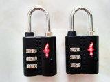 Tsa Sicherheits-Arbeitsweg-Beutel-Verschluss mit Cable&Cable Verschluss