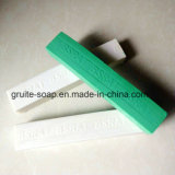 jabón de lavadero de Bsrat del color blanco/verde de 1.5kg para el mercado de Angola