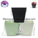 Hochwertiges Förderung-Firmenzeichen-Drucken-flacher Papierkasten-Blumen-Kasten