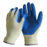 fabbrica protettiva del guanto del lavoro della piega 10g del lattice della pinsa rivestita dei guanti