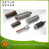 Tubo di aletta di alluminio dello scambiatore di calore della caldaia di ASTM A179, tubo di aletta di ASTM A192