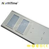 Luzes de rua espertas da potência solar do controle do APP do telefone