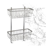 Nouvelle salle de bain Sanitaire Chrome Stainless Steel Fitting Storage Rack