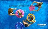 아이 팽창식 관 수영 반지 - 수영풀은 물 반지를 뜬다