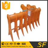 La benna su ordinazione del rastrello della radice delle parti del frantoio dell'escavatore di montaggio misura 320d