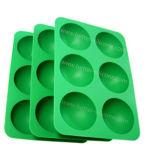 Bandejas de cubos de gelo de silicone com alimentos seguros