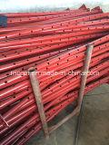 빨간 색칠 Q235 조정가능한 강철 비계 버팀목 버팀대