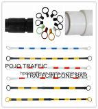 Reflektierender einziehbarer Verkehrs-Kegel-Stab für Straßen-Sperre Pjtcb106