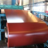 Сталь зерна горячего сбывания деревянная гальванизированная Prepained в катушке