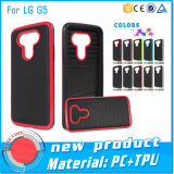 Caja aplicada con brocha híbrido del teléfono de Motomo para LG G4/G5/K5/K7/K10