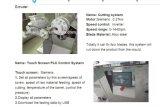 小さい容量の食糧押出機の実験室の放出機械