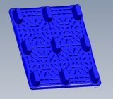 打撃形成機械HDPEを作り出す作る自動にプラスチックパレット
