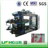 Maquinaria de impressão plástica high-technology de Flexo da película do PE Ytb-41000
